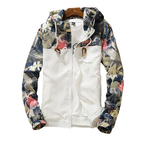 Women's Hooded   Jackets   2018 Summer Causal windbreaker Women   Basic     Jackets   Coats Sweater Zipper Lightweight   Jackets   Bomber Famal