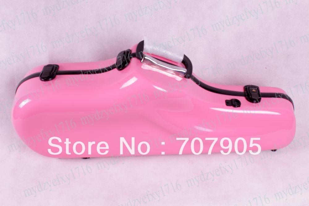 Здесь можно купить   New Alto saxophone Water Proof Glass fiber case Dropshipping Wholesale Pink High quality Спорт и развлечения