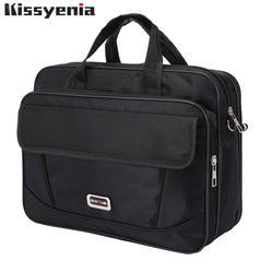 Kissyenia бренд водостойкие нейлоновая сумка для ноутбука для мужчин Сумка дорожная чемодан бизнес ноутбука мужчин's портфели Bolsa Masculina KS1317