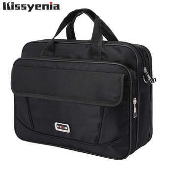 Kissyenia Brand Waterproof Nylon Laptop Briefcase Men Bag Travel Suitcase Business Laptop Men's Briefcase Bolsa Masculina KS1317 - DISCOUNT ITEM  30% OFF All Category