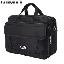 Kissyenia Brand Waterproof Nylon Laptop Briefcase Men Bag Tr