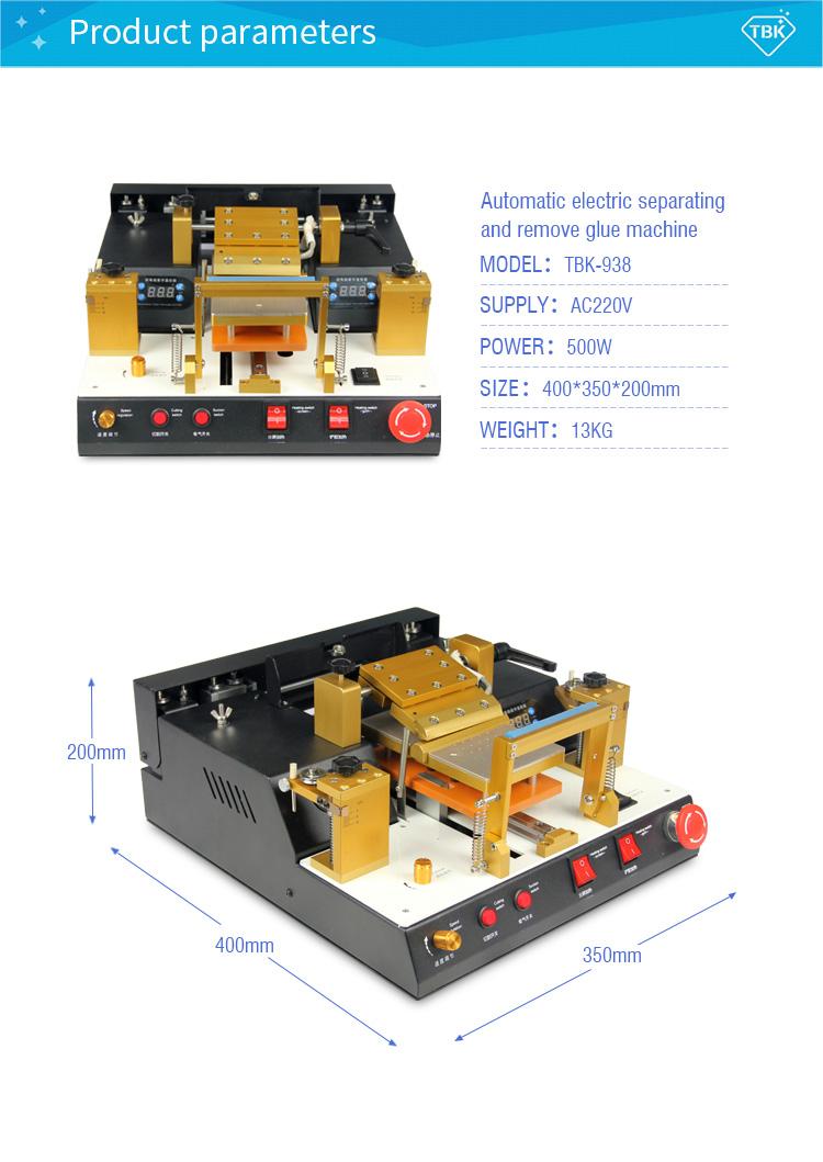 TBK 938 Separator