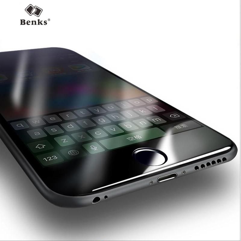 Бэнкс 3D изогнутые Full Cover для iPhone 6/6 s plus/6 s/6 S плюс анти шок закаленное Стекло фильм 9Н Твердость Экран протектор