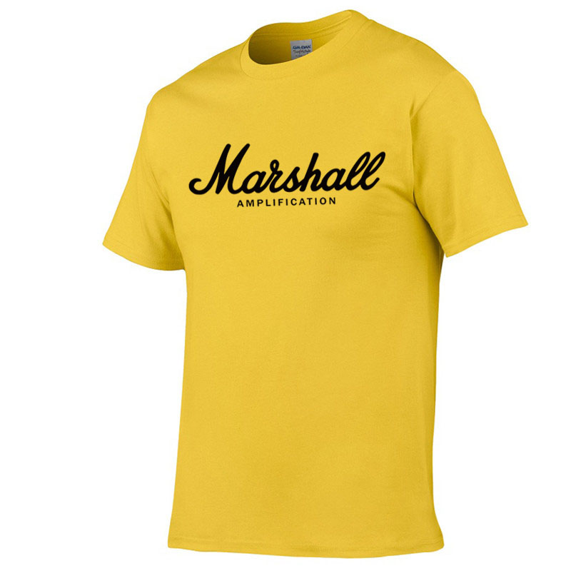 2019 Hot Sale Summer 100% Cotton Marshall T Shirt Men Short Sleeves Tee Hip Hop T-shirt Streetwear Boy/girl Tshirt XXS-2XL