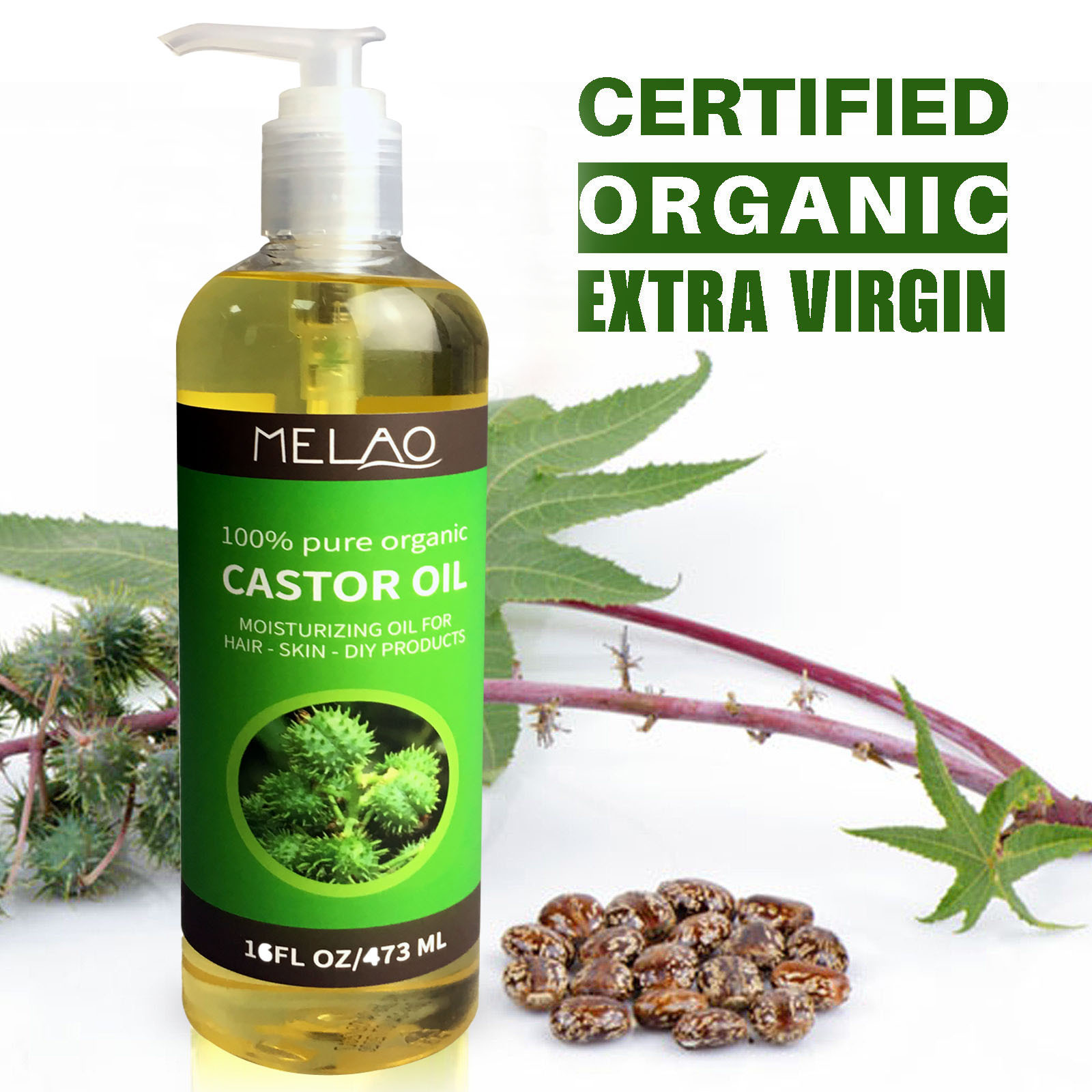 100% Pure Natural Massage Spa Almond Avocado Coconut Essential Oil Cold Pressed Moisturiser Castor Oil Hydrating Hair Care famous brand oroaroma castor oil natural aromatherapy high capacity skin body care massage spa castor essential oil