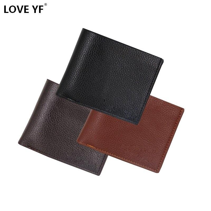 2019 Men Wallets Mens Wallet With Coin Bag Zipper Small Money Purses New Design Dollar Slim Purse Money Clip Wallet