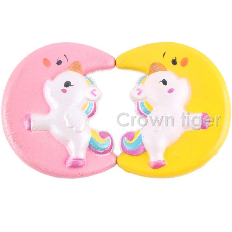 Kawaii 12cm Big Squishy Donut Unicorn Jumbo Squishy Slow Rising Pink Unicorn Doughnut Squeeze Fun Toy For Children Antistress #6