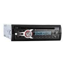 1 DIN coche estéreo 12 V FM Entrada auxiliar estéreo Radio reproductor de Audio receptor CD DVD VCD WMA MP3 player con SD/USB