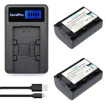 2pcs NP-FV50 NP FV50 Premium Digital Digital camera Battery +LCD USB Charger for SONY HDR CX390 290E PJ510 820E 790E 660E XR260 CX700E