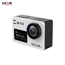 SJCAM SJ8 PLUS Action Camera 12MP Sports Cam with EIS Angle Lens 2.33 Inch Touch Screen  for Underwater Outdoor Activity Black