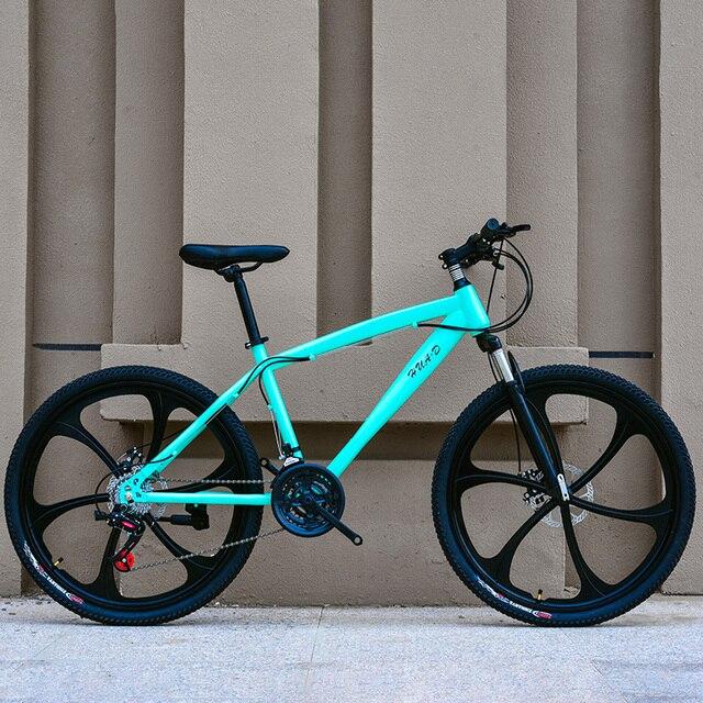 Отличное качество 21 скорости шоссейный велосипед 26 дюймов горный велосипед двойной дисковый тормоз Новый стиль велосипеды