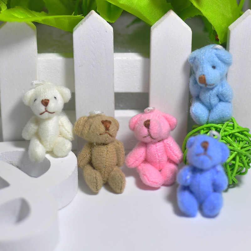 1 шт. Kawaii маленькие медведи плюшевые мягкие игрушки жемчуг бархатные куклы, подарки мини-мишка