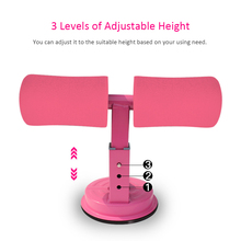 Sit-Up Exerciser Gym Thin Body Sit Up Bar Assistant Abdominal Muscle Trainer Strong Suction Exercise Fitness Training Equipment