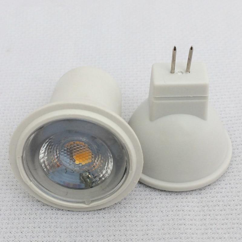 все цены на 3W SMD LED MR11 GU4 Small Spotlight 240LM 3leds 2835 Dia 35MM 12V AC/DC & 24V DC LED Cup light онлайн