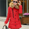 New winter Down jacket High Quality women Warm Jacket Coat Hood Europe Style long down coat outwear thickening Warm Hooded coat