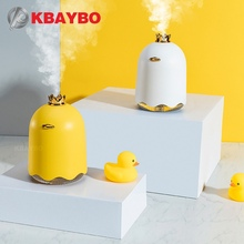 KBAYBO 250ml USB Aroma Essential Oil Diffuser Ultrasonic Cool Mist Humidifier with LED Night Light Mini Fan for Office and Home