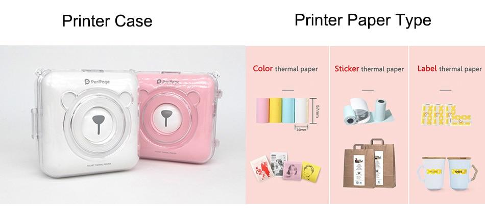 printer case paper