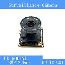 900TVL Color CMOS CCTV Camera Module mushroom head 3MP 2.8mm Lens Security Video surveillance cameras IR-CUT dual-filter switch