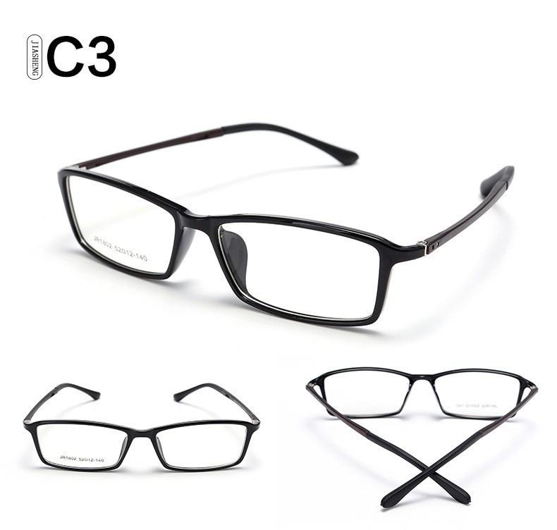 5560401a794 Myopia TR90 Lenses Eyeglasses Frames Eyewear Plain Glass Spectacle ...