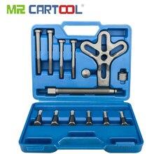 MR CARTOOL 13 pcs Armonica Balancer Volante Estrattore di Rimozione Strumenti Automotive Heavy Duty Albero Motore Gear Pullery Kit di Riparazione