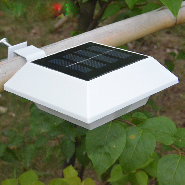 5pcs Lot No Off Switch 4 Led Solar Lamp Outdoor Lighting Ip44