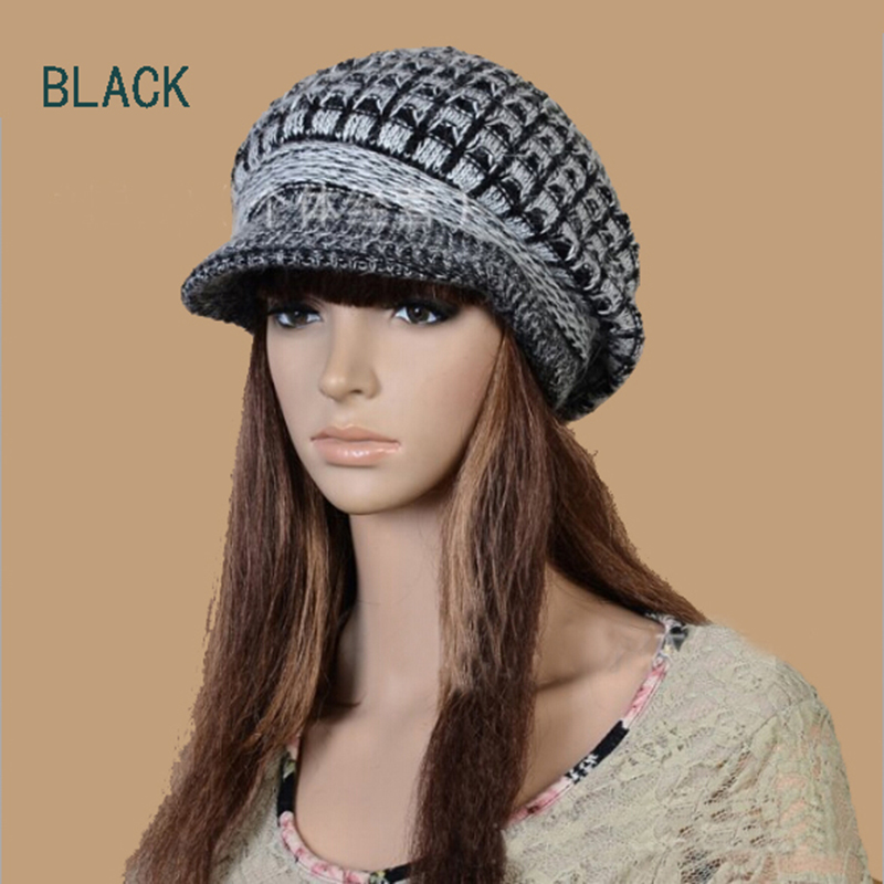 cea1d4b108741 Casual Beanie Thickening Thermal Homies hat Gorro women s rabbit fur Hip  Hop Ring Warm Cap Winter Spring Woolen Knitted Beanies