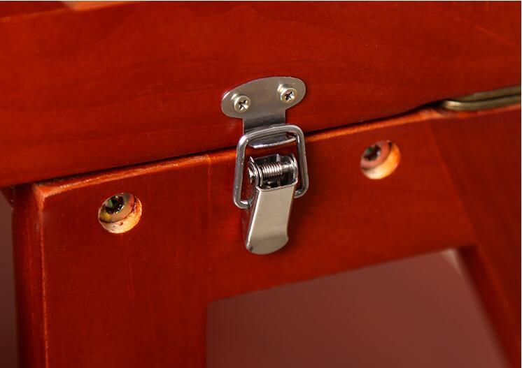 Scaletta In Legno Pieghevole : Multi funzionale scaletta sgabello sedia panchina in legno passo