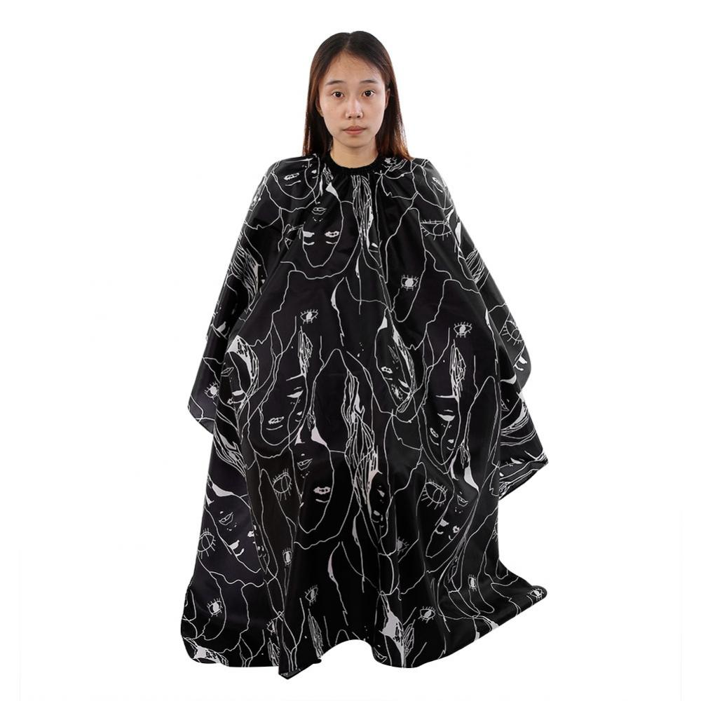 Beauty & Health Best Selling 2018 Products Pattern Cutting Hair Waterproof Cloth Salon Barber Cape Hairdressing Hairdresser Apron Haircut Capes Reasonable Price