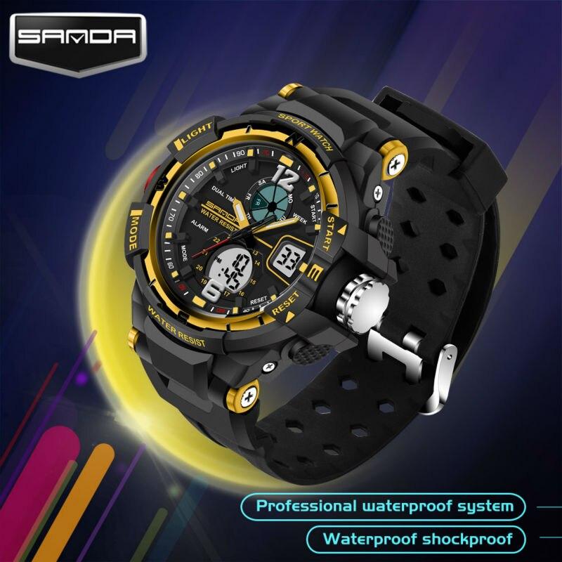 sanda Children digital wristwatches (3)