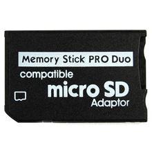 Карта памяти Pro Duo Mini MicroSD TF адаптер MS SD SDHC кардридер для sony и psp серии