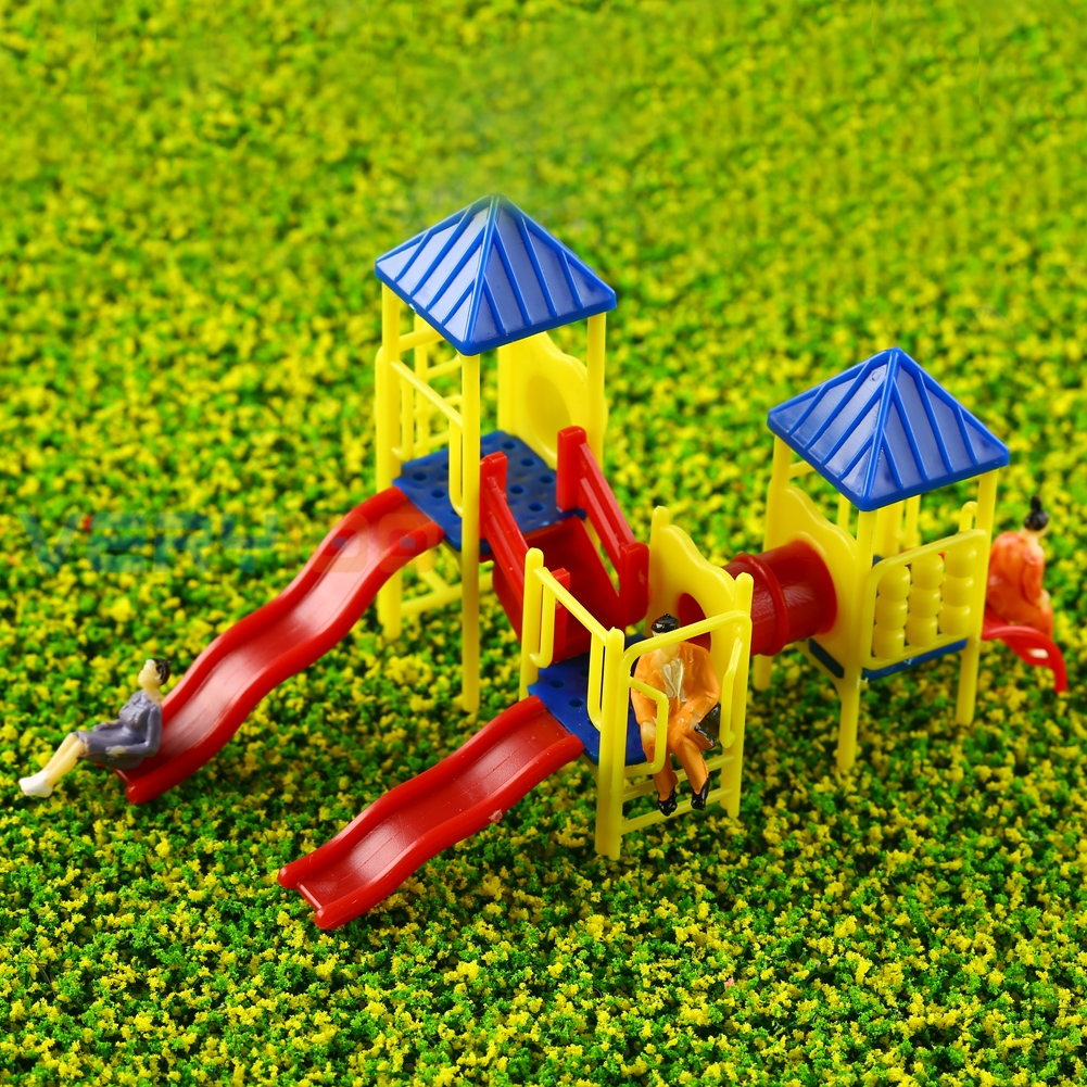 1:75-1:100 HO Scale Children Facility Architecture Scale Model Train Layout