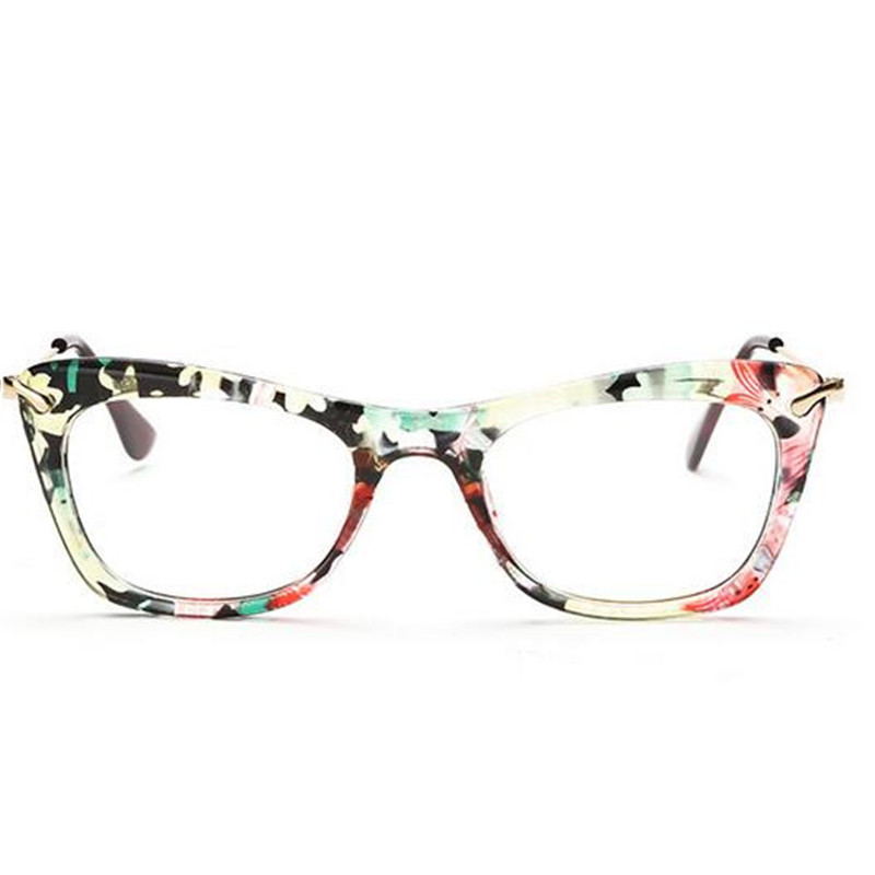 KESMALL Summer Fashion Lightweight Eyewear Women Men Acetate Glasses ...