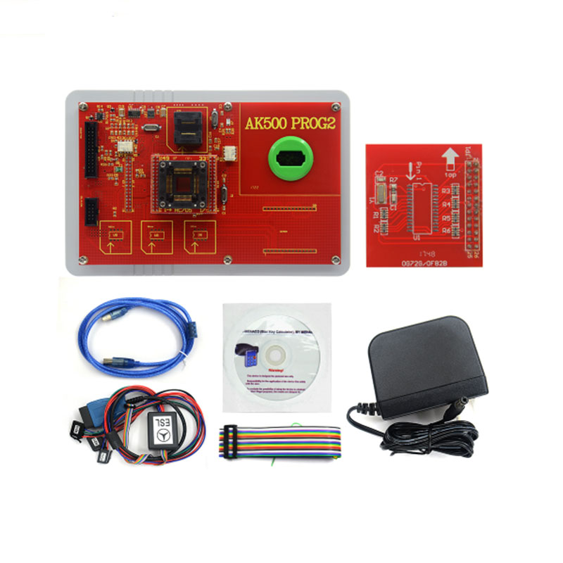 AK500 key programmer matching instrument anti-theft matcher For Mercedes-Benz without SKC and Database Hard Disk Software