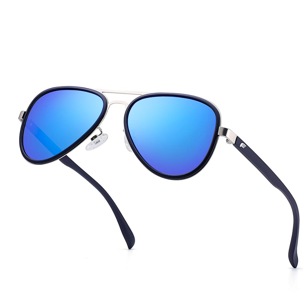 2019 New Stainless Steel Framed Polarized Sunglasses Fashion Casual Sunglasses For Men And Women