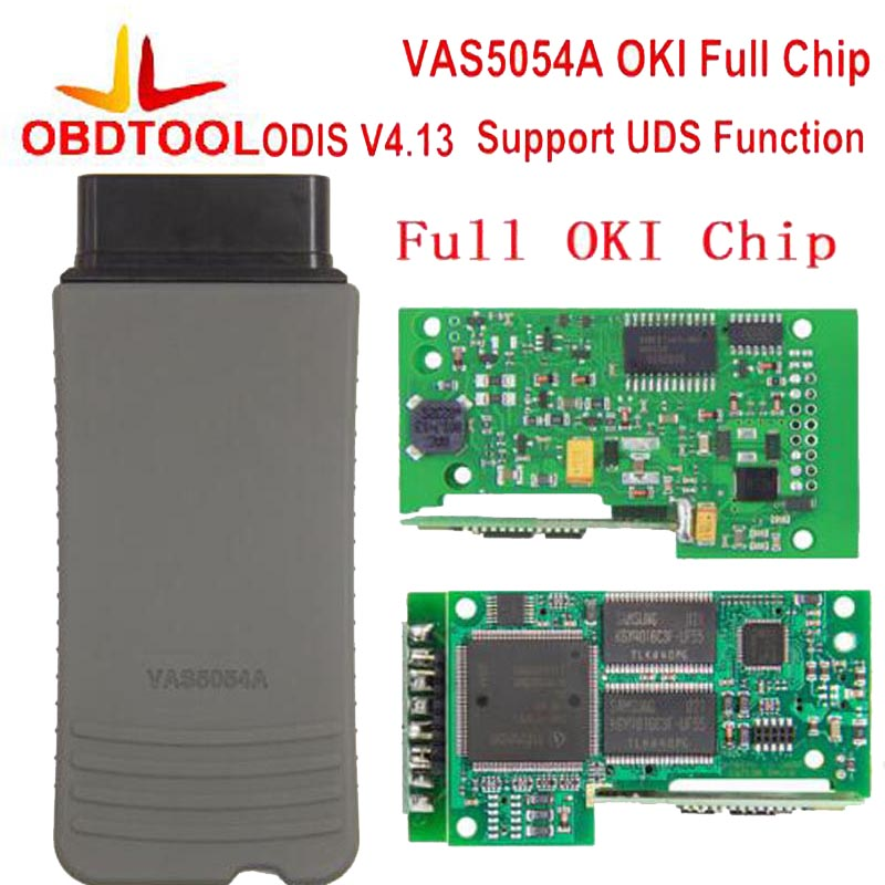 ObdTool VAS5054 VAS 5054A ODIS 4.13 With OKI Chip Bluetooth VAS 5054 Support UDS Protocol VAS 5054A 1Pcs 2017 vas5054a vas5054 odis 3 01 with oki vas 5054a full chip bluetooth support uds protocol diagnostic tool for vw seat skoda