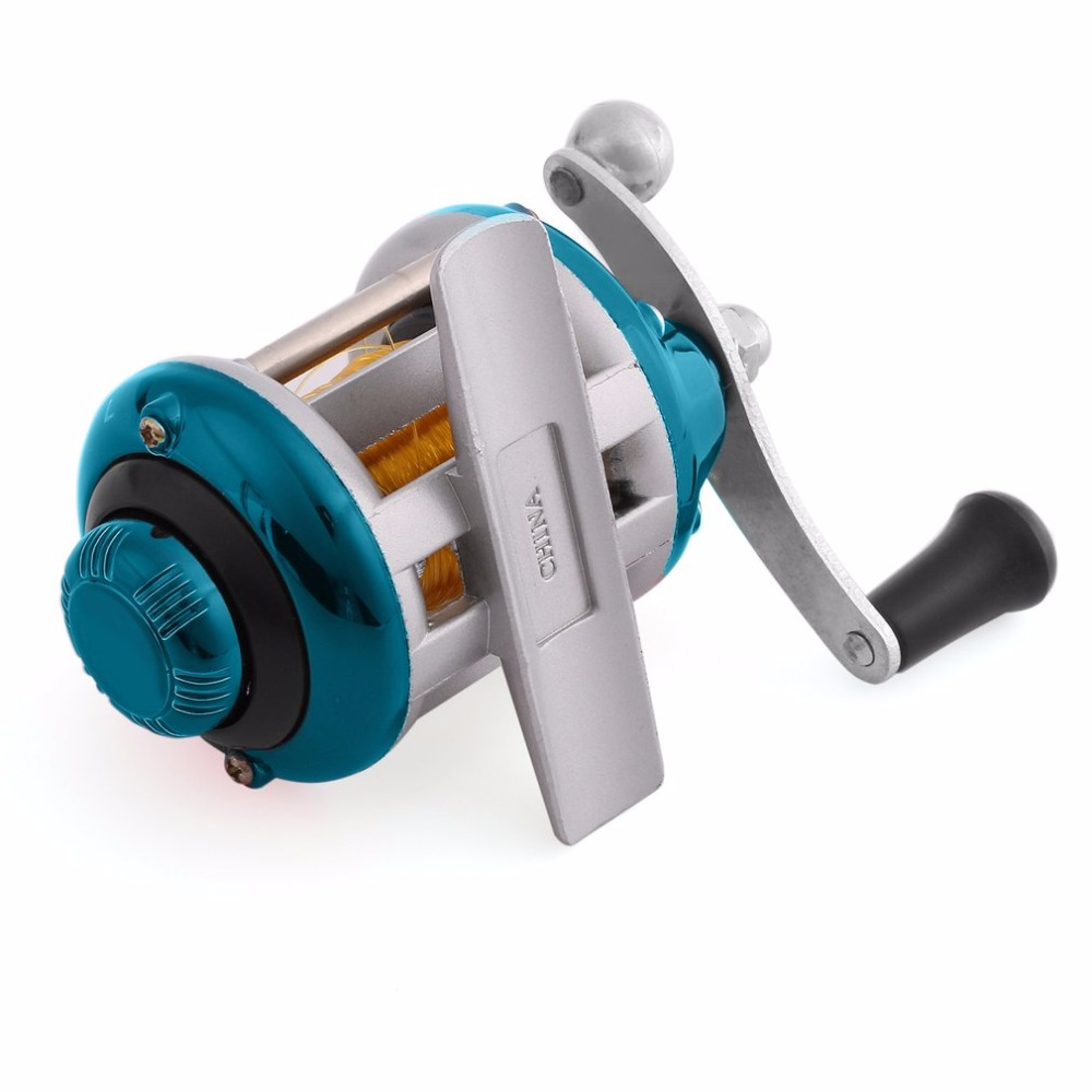Fishing Trolling Reel Right Handed Reel Round Baitcasting Fishing Reel Saltwater Fishing Reel 0 28MM 50M