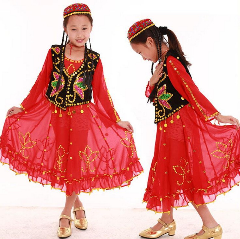 Children Dance Performance Costumes Siamese Children s Wear Dress