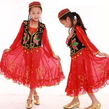 Children Dance Performance Costumes Siamese Children's Wear Dress