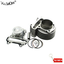 Aftermarket XLSION 100cc Big Bore 50mm Cylinder Kit Untuk 139QMB/QMA Scooter Moped GY6 50cc 80cc 4 Stroke ATV Quad(China)