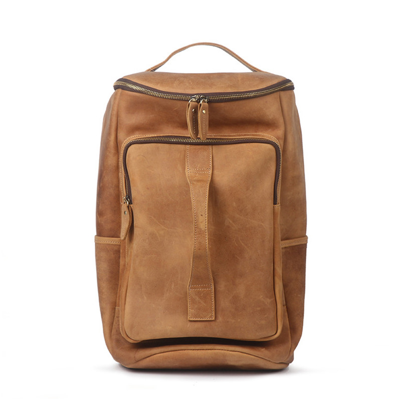 Cow leather backpacks genuine leather bag Cow leather backpacks genuine leather bag