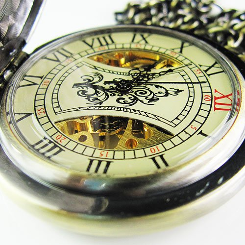 !!!Unique Twelve Constellation Mechanial Pocket Watch