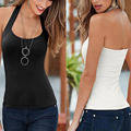 New 2017 Summer Women Tank Tops Female Cozy Sutable Top Camisole White,Black,Blue Free Shipping C1