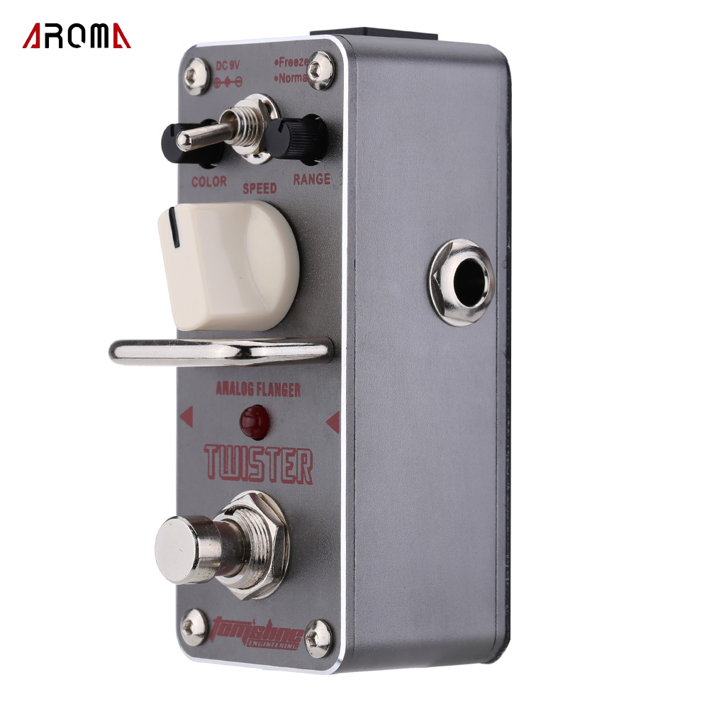 buy aroma atr 3 twister analog flanger electric guitar effect pedal mini single. Black Bedroom Furniture Sets. Home Design Ideas