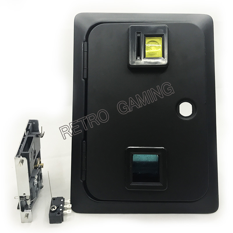 American Style Dual Coin Selector Door With Needle