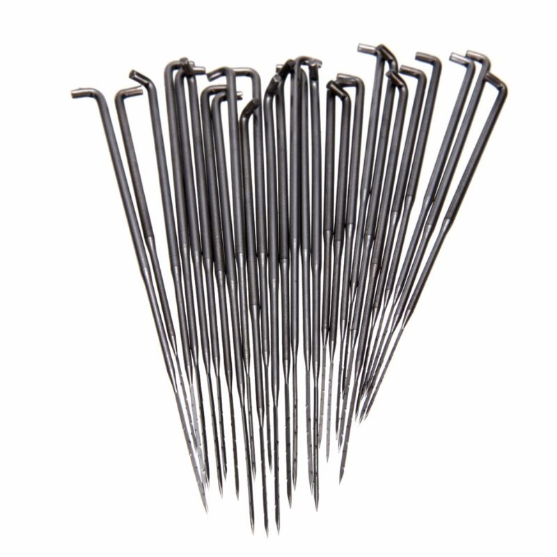 BEST 10pcs Non Woven Fabric Wool Felting Needles Felt Tools Needle Starter Beginners DIY Craft S/M/L Poke Needle Felting