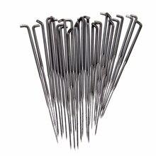 BESTE 10 stücke Non Woven Stoff Wolle Filzen Nadeln Filz Werkzeuge Nadel Starter Anfänger DIY Handwerk S/M/L Sack nadel filzen
