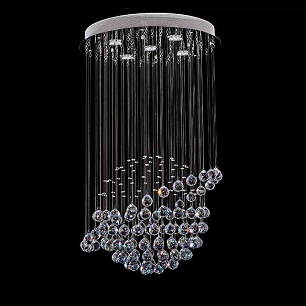 Mamei free shipping globe shape modern crystal chandelier light mamei free shipping globe shape modern crystal chandelier light fixture earth design included 5 lights bulbs in pendant lights from lights lighting on aloadofball Images
