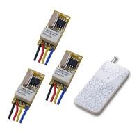 DC 3 5V 3 7V 4 5V 5V 6V 9V 12V Mini Relay Receiver Micro Remote