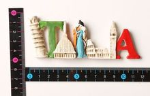 Romantic Italian elements Features travel fridge stickers