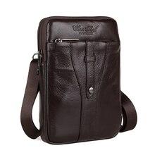 2015 heißer Verkauf echtes Leder Taschen für Männer Messenger Casual Tasche für Reise Herren Umhängetaschen mit hoher Qualität Freies Verschiffen
